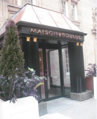 Maison Boulud, Ritz carlton Montreal - Monsieur Boulud's top standards of hospitality